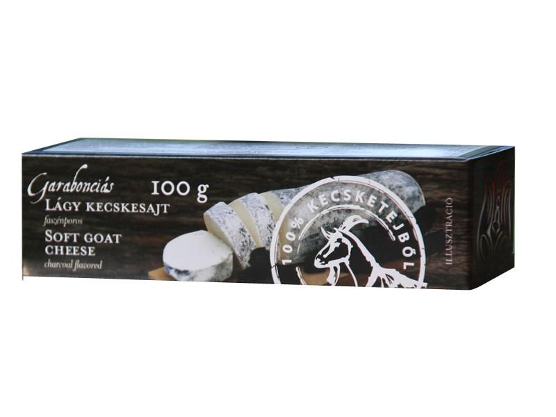 Garabonciás lágy kecskesajt rúd - Faszénporos 100g